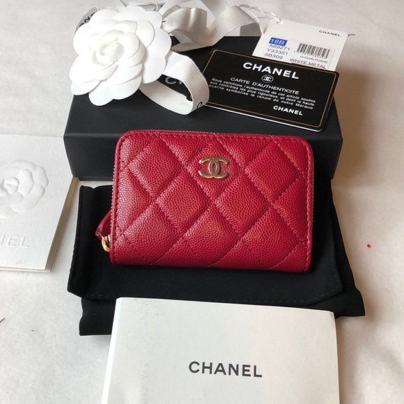 b96a70c5ae02 CHANEL Bags | Brand New Classic Zip Around O Coin Purse | Poshmark